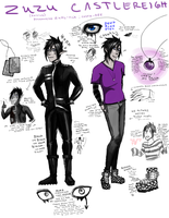 ZUZU REFERENCE SHEET THING by Kuneria