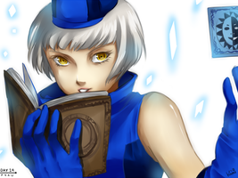P4AU Day 14 - Elizabeth by HanuWabbit