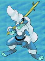Fake: Froakie last evo by shinyscyther