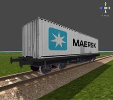 Train Driver 2 Models - Freight Container 02 by Jakhajay