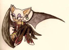 No.32 Rouge the Bat by NextGrandcross