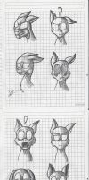 practice facial expressions by infernal69