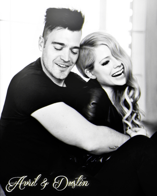 Dustin Bates with Avril Lavigne by FreeError