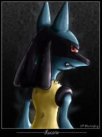 Lucario by masterfury