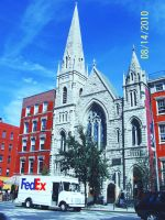 Church in the East Village by AleksVarts