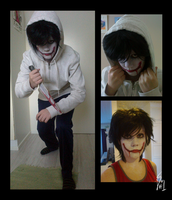 .:Cosplay:. Jeff the Killer by SilverfanNumberONE