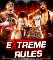 Wwe Extreme Rules 2012 Poster. by Mohamed-Fahmy