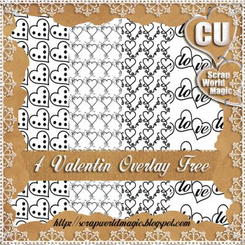 4 Valentin Overlay CU png Free by weezya