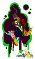 ohey look i'm kind of crazy by OverlordFlower
