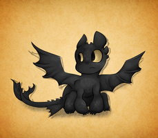 oops another toothless~ by Bienoo