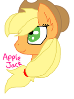Applejack by miguelcaminoiscutie