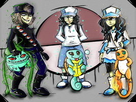 Pokemon Trainers by ISZK-tv