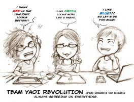 Team Yaoi Revolution by Lehanan