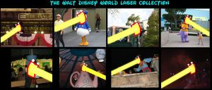 Disney World laser collection by Dragonrider1227