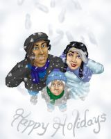 Happy Holidays 2012 by JesIdres