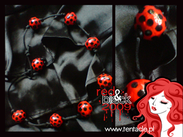 Red and black :: ladybird by windingkira