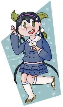 Tenko Chabashiro by siitric-acid