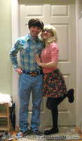 Howard and Bernadette TBBT Cosplay by BrittyDee