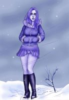 Winter Blues by oupelay