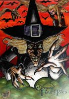The Wizard Of Oz - Wicked witch  of the West by JASONS21