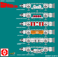 Gerry Andersons Space 1999 Eagle Transporter 2 by ArthurTwosheds