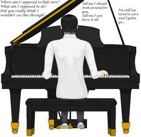 Piano Man :finished: by Siouxstar