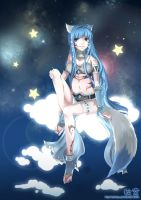 COMMISSION: Counting Stars by Akimiya
