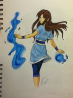 Water Bending Commission by BlackRoseDestiny