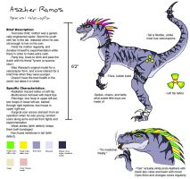 Aszher Ramos Reference Sheet by DancingMadKefka