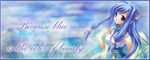 Blue Fairy sig by krm3dayana