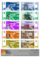 New Design for INDIAN Currency by MadreMedia
