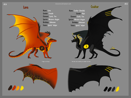 Lava and Coaltar ref by RitaRaven