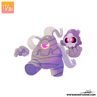 10/17 - Duskull and Dusclops!