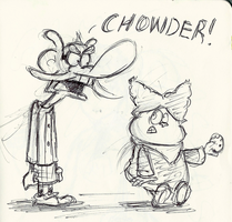 Chowder by little-ampharos
