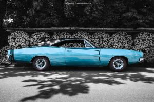 1968 Dodge Charger R/T Side by AmericanMuscle