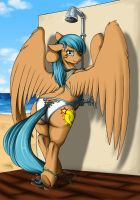 Commission - Star of the Beach by Longinius-II