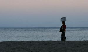 Lombok Beach Vendor by wilmil