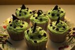Chocolate mint cupcakes by dimebagsdarrell
