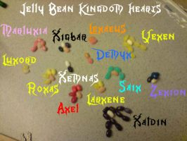 Jelly Bean Kingdom Heartz by sora1992