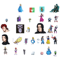 Pixel Dump January 2016 by ShinySeabass