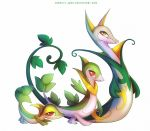 Snivy Servine anf Serperior by francis-john