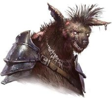 Gnoll by lestatbishop