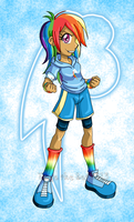 Rainbow Dash, the One and Only by TanjatheBat