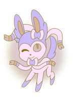 100 Palette Challenge-Sylveon by gaper4