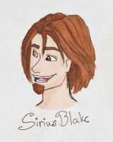 Sirius Black by MajaEL95