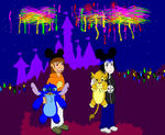 Disney World Night Party by DelqueaBoss