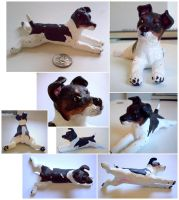 Jack Russel Sculpture by KlakKlak