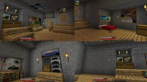 My first Minecraft home by Maivory