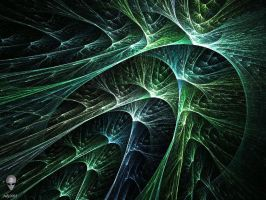 Green Filaments by psion005