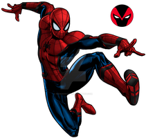Spiderman MCU marvel avenger alliance / Civil War by redknightz01